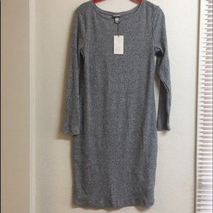 A New Day Long Sleeve Sweater Dress